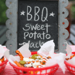 {Party Food} Grilled BBQ Sweet Potato Nachos!