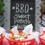 Grilled BBQ Sweet Potato Nachos!