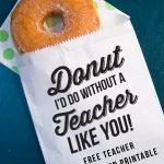 Donut I'd Do Without A Teacher Like You!