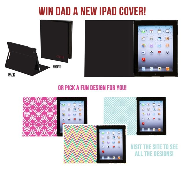 Win an iPad cover for Father's Day!