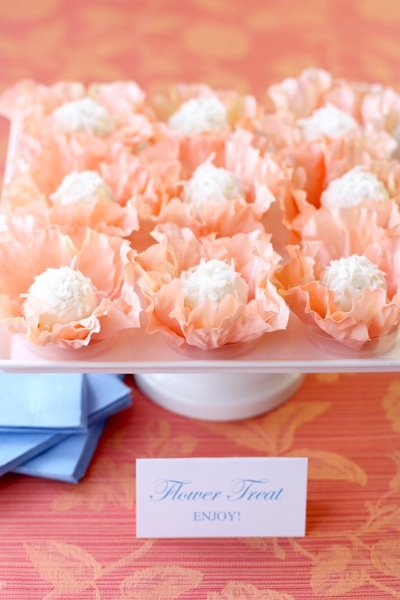 Styled Floral Favors for Martha Stewart Weddings!