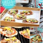 How to make mini grilled pizzas!