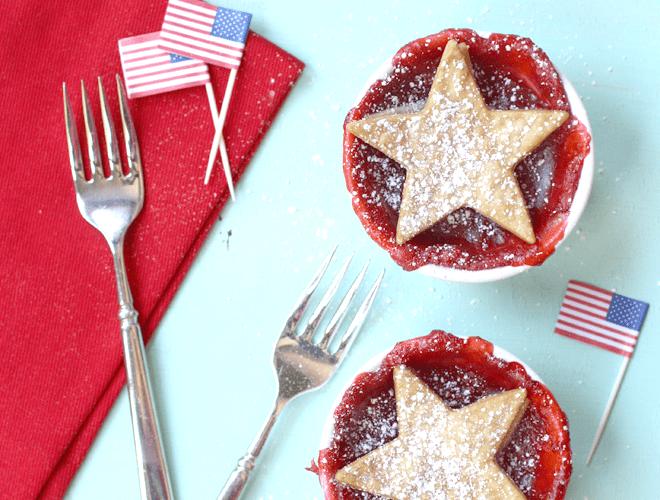 {Recipe} Patriotic Strawberry Pies!