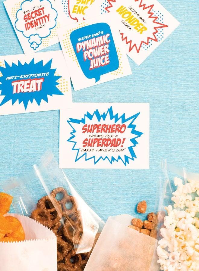 Father's Day: SuperDad snacks!