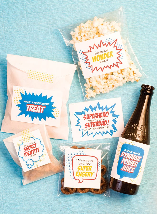 Father's Day: SuperDad snacks!
