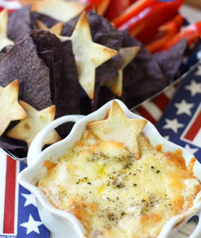 4th of July Appetizer Dip