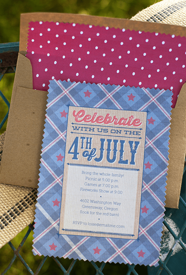 Vintage Americana 4th of July Party!