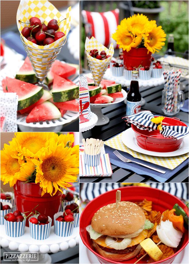 Backyard Grilling Party Ideas! | Pizzazzerie
