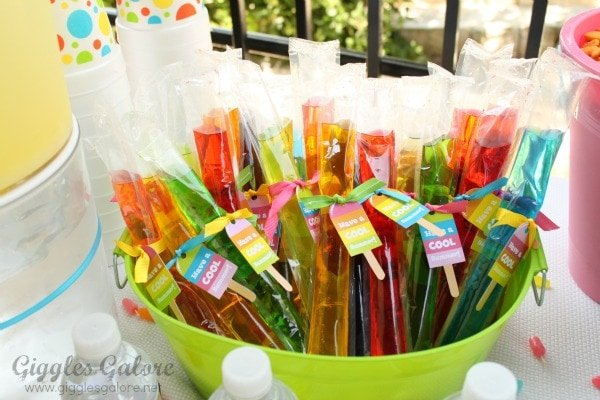party feature colorful summer popsicle party pizzazzerie
