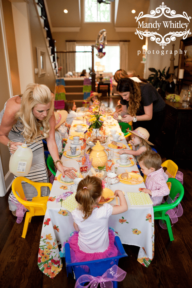 Adorable Little Girl's Tea Party Photos + Inspiration!