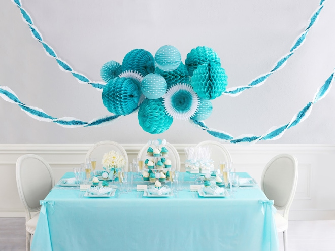 Turquoise Party from Martha Celebrations!
