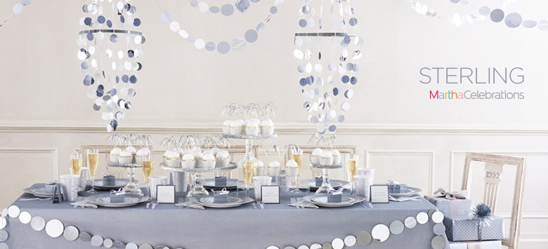 Sterling Silver Party