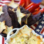 4th of July Appetizer: White Cheddar & Vidalia Onion Dip