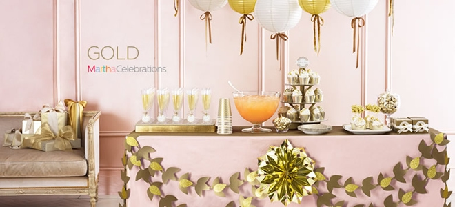Gold Leaf Party
