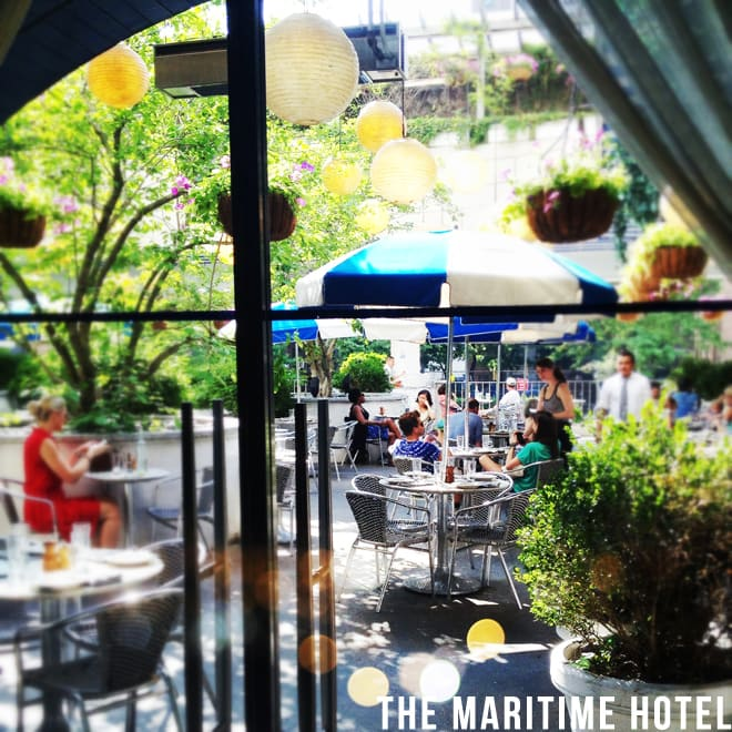 The Maritime Hotel in NYC