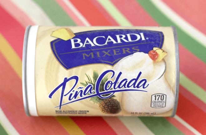 Pina Colada from BACARDI Mixers!
