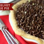 {Party Food} Red Velvet Fudge Pie