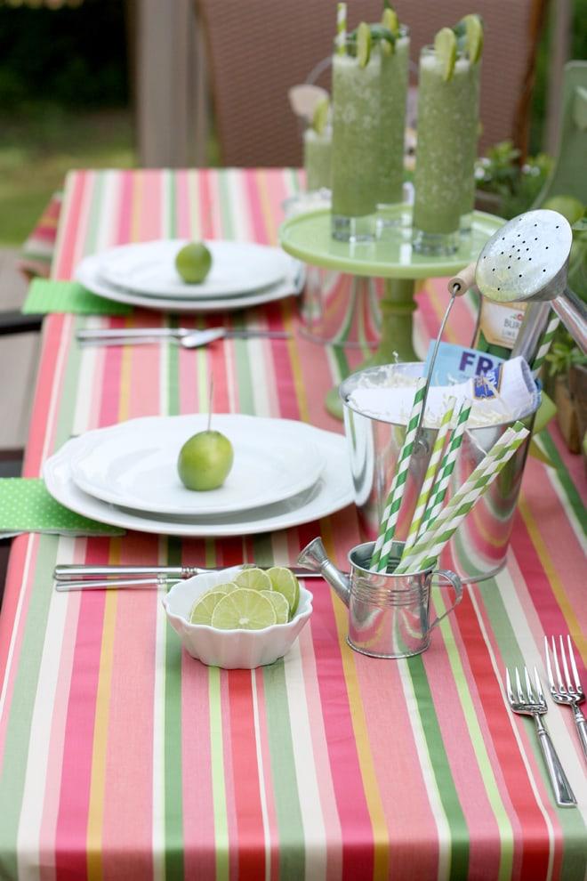 Host a summer garden dinner party!