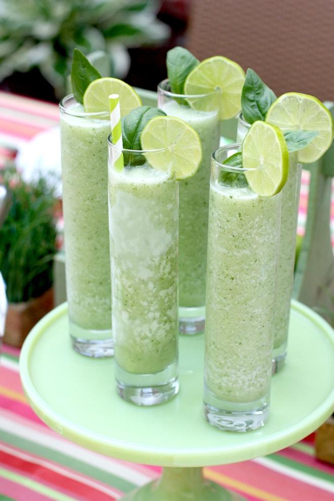 Basil Blender: Refreshing Summer Cocktail!