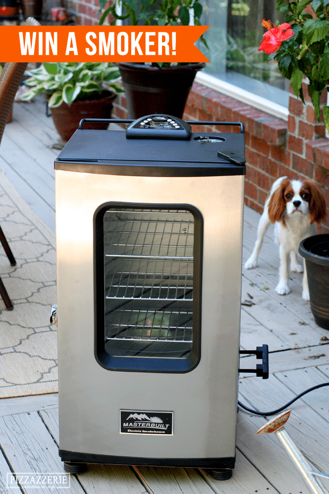 Win a Smokehouse Smoker - perfect gift for Dad!