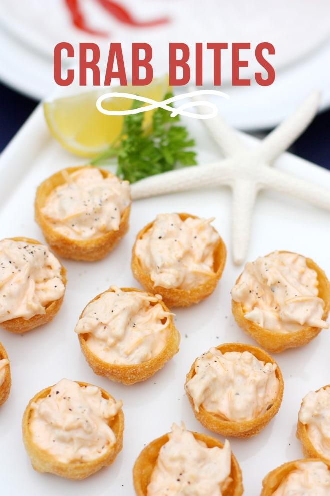 Delicious Crab Bite Appetizer Recipe