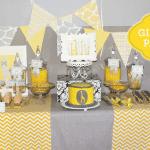 Adorable Yellow and Gray Giraffe Party Photos + Inspiration!