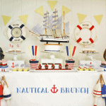 A Maine-Inspired Nautical Brunch