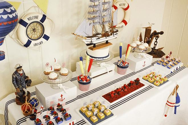 Adorable Nautical Brunch Photos + Inspiration!