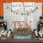 Creepy Crawly Reptile Party Photos + Inspiration!