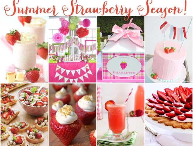 For the love of STRAWBERRIES!