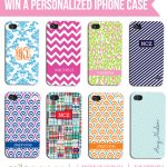{Giveaway} Personalized & Monogrammed iPhone Cases!
