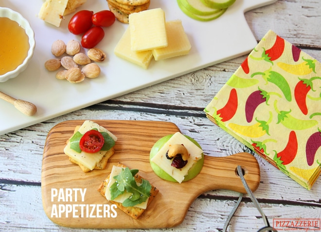 3 Last Minute Party Appetizers with Cheese!