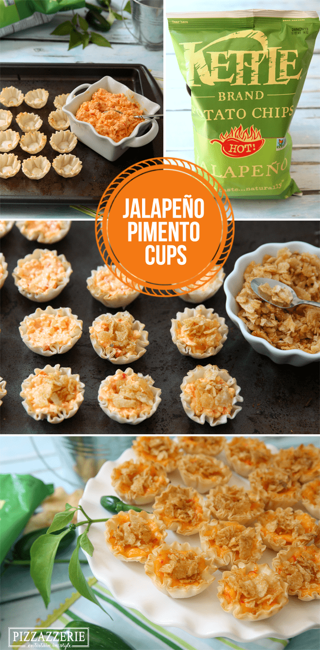 Delicious Jalapeno Pimento Cups, perfect party appetizer!