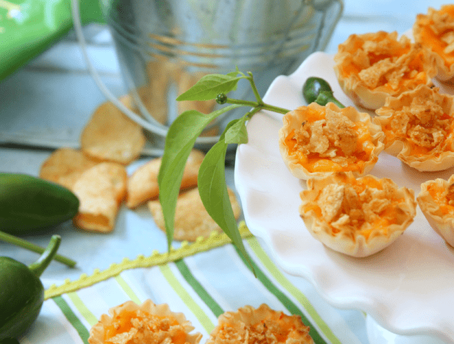 {Party Appetizer} Jalapeño Pimento Cups!