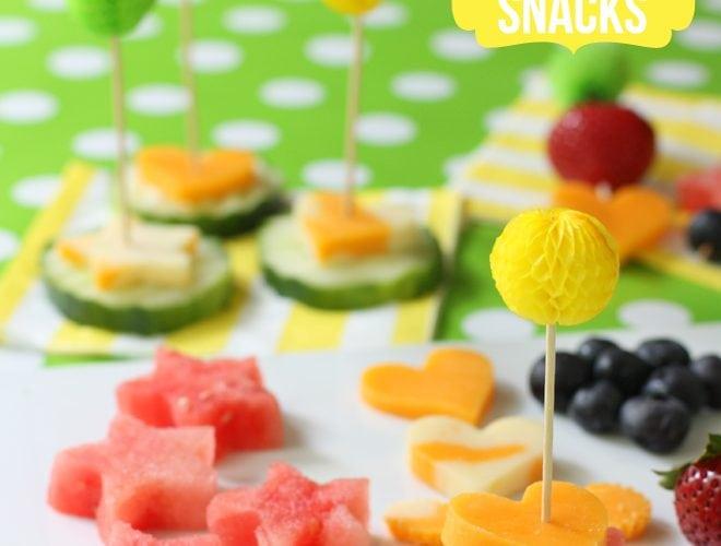 Road Trip Snacks: Cheese & Fruit Skewers!
