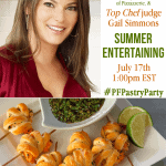 Join Pizzazzerie along with Pepperidge Farm Puff Pastry and Top Chef Judge Gail Simmons for a Twitter Party! Win Prizes!