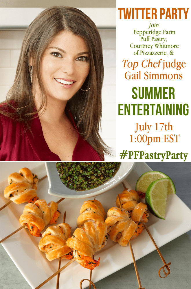 {Join Me!} Puff Pastry Twitter Party with Top Chef's Gail Simmons!
