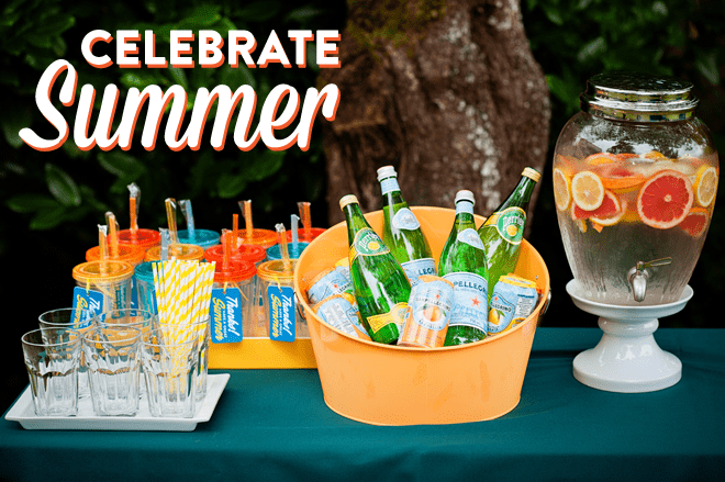{Party Feature} Celebrate Summer Birthday Party!