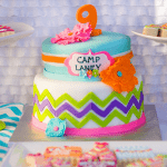 "{Party Feature} Fabulous ""Glamping"" Camp Themed Birthday Party!"