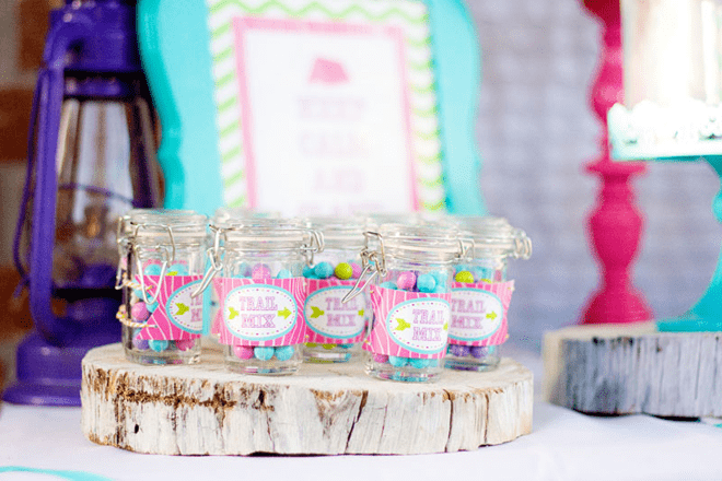 """Fabulous """"Glamping"""" Camp Themed Party Photos + Inspiration!"""