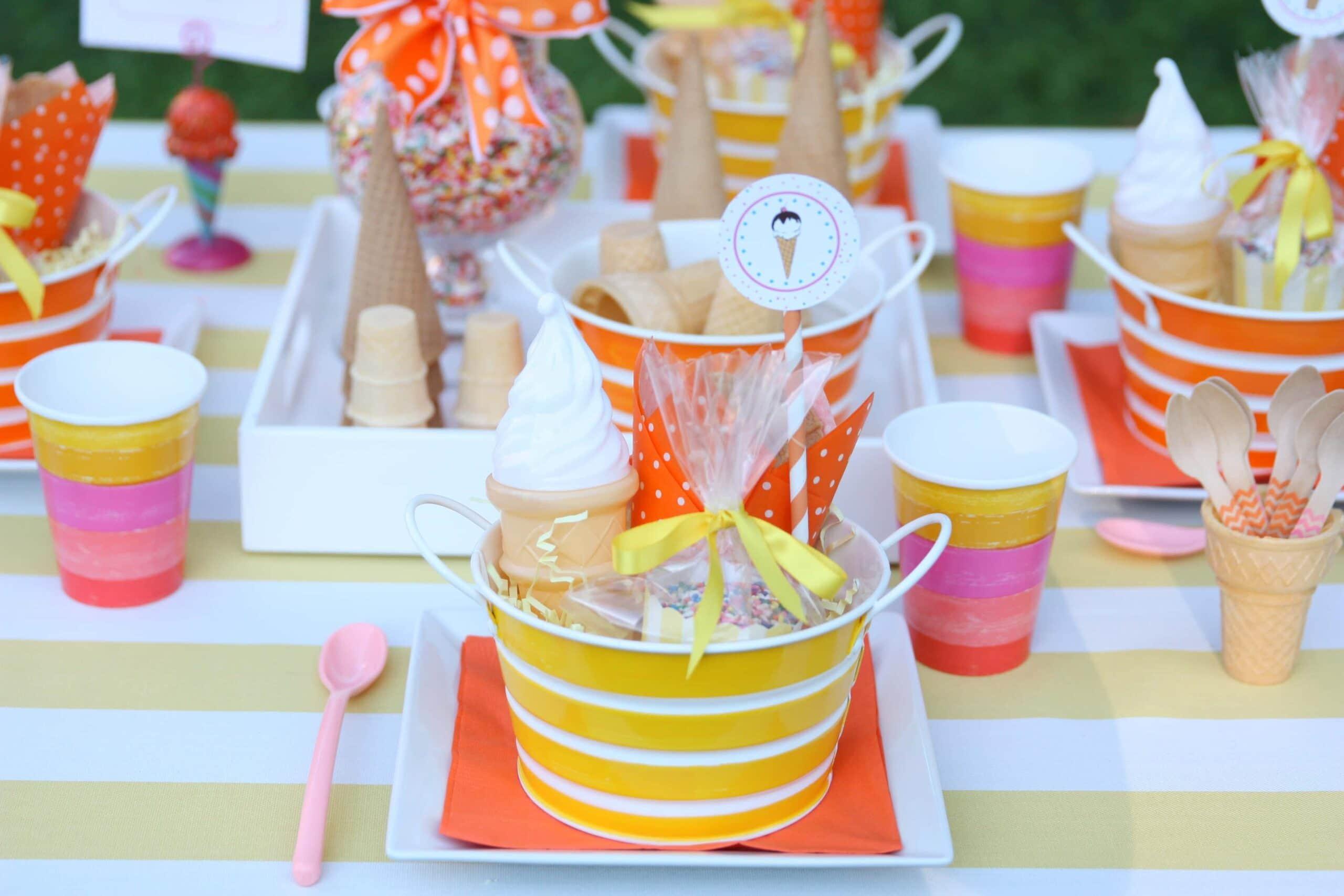 Host a Blue Bunny Ice Cream Social Party!