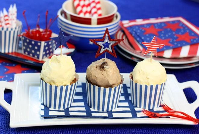 Make Mini Ice Cream Cakes - SUPER EASY and delish!
