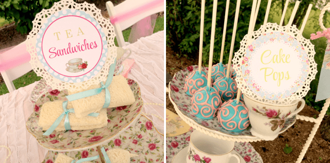 Adorable Teacups + Tutus Party Inspiration + Photos!