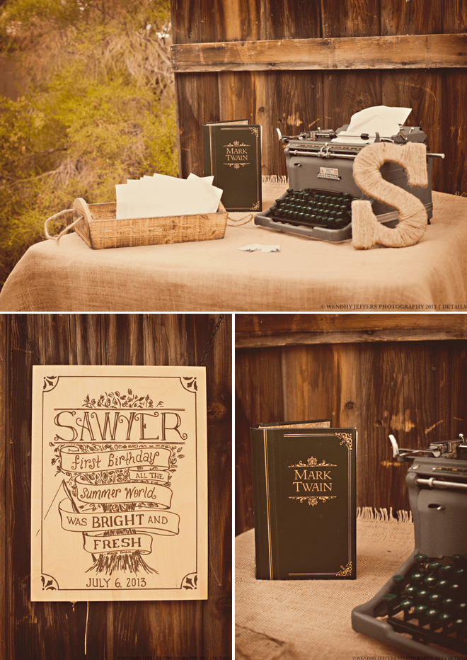 "Adorable ""Adventures of Tom Sawyer"" Inspired birthday party + photos!"