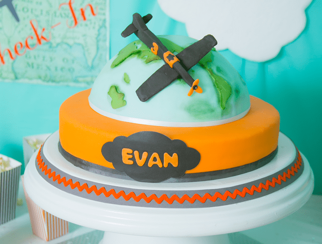 {Party Feature} Airplane 3rd Birthday Party!