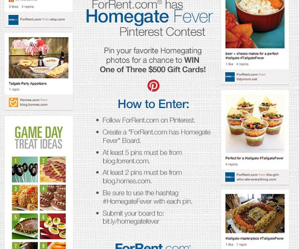 """Homegate"" Football Fever – Pinterest Contest!"
