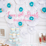 {Party Feature} Lace & Pearls Bridal Shower!