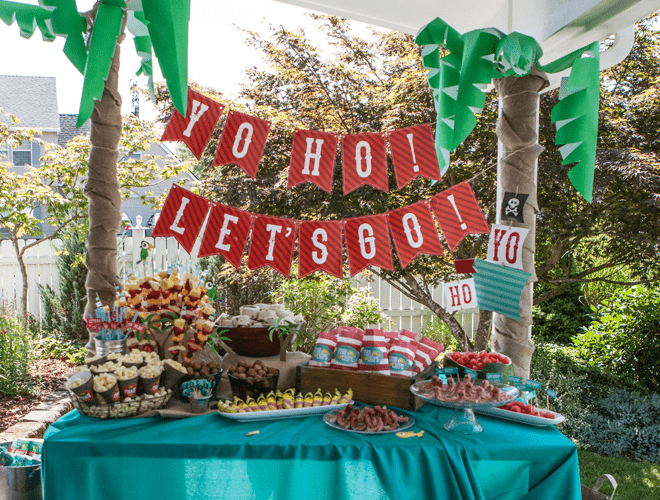 {Party Feature} Kid's Pirate Party!