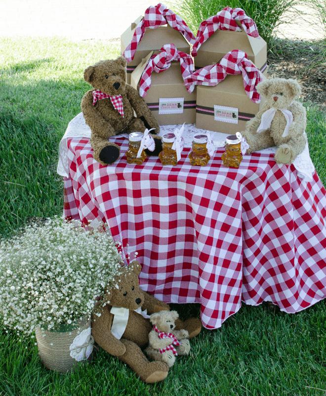 CUTE Teddy Bear Picnic Birthday Photos + Inspiration!