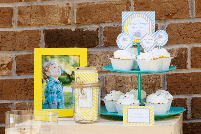 {Party Feature} Vintage Train Birthday Party!